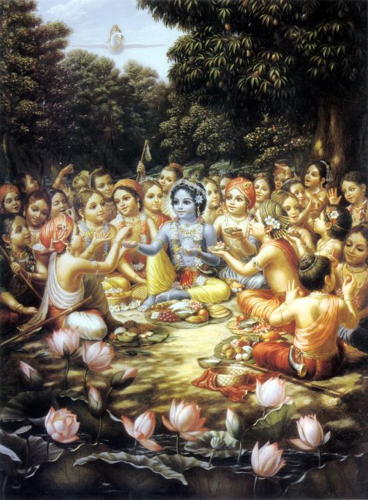 Lunch with Krishna